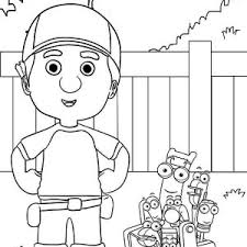 handy manny tools coloring pages handy manny and friends coloring page handy manny and friends