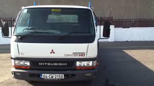 mitsubishi truck 2004 mitsubishi canter hd dropside from murphys in dublin youtube