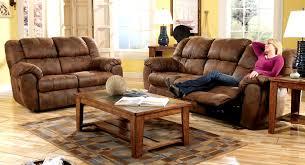 presley cocoa reclining sofa ashley larkinhurst reclining sofa best home furniture decoration