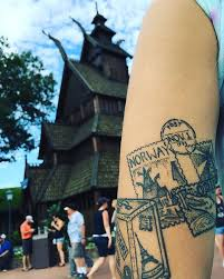 another park inspired tattoo norway tattoo disneytattoo