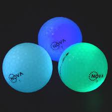 light up golf balls 3 pack nova dark tracker light up golf balls led glow night