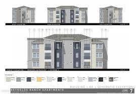 100 multi family plans 8 unit house plan with corner decks