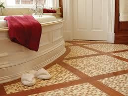 Bathroom Tile Floor Bathroom Awesome Flooring Ideas Hgtv Pertaining To Floor Tiles