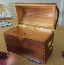 Diy Childrens Wooden Toy Box Plans Wooden Pdf Wood Gear Clock by Pirate Treasure Chest The Wood Whisperer