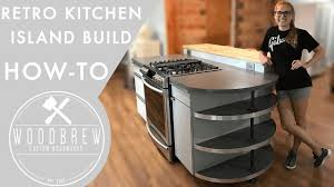 making a modern kitchen island youtube