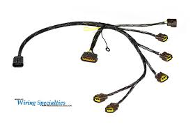 wiring specialties engine harness for r32 rb20det rb rb20 to s13