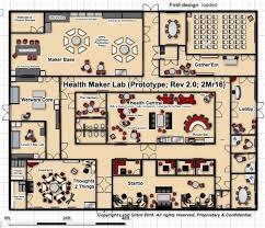 health maker lab u0027s prototype floor plan w u201csix places u201d u2013 health