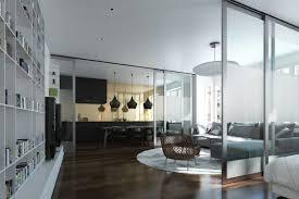 küche im wohnzimmer schiebetür küche wohnzimmer harzite