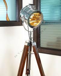 designer marine floor lamp nautical spot studio tripod floor