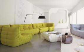 Yellow Leather Sofa by Furniture Amusing Leather Sofa With Creativedesign Also Button