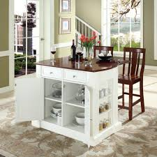 Remodel Kitchen Ideas For The Small Kitchen Kitchen Movable Portable Kitchen Island With White Wood Finish