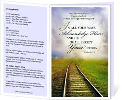 church programs template church bulletin templates railroad church bulletin template with