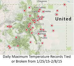 Colorado Snowpack Map What U0027s Up With This Mid Winter Heat In Colorado