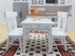 Dollhouse Dining Room Furniture Aliexpress Buy 1 12 Scale Dollhouse Miniature Furniture