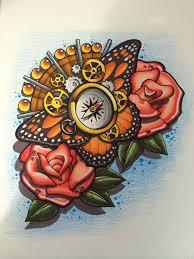 4 nice butterfly tattoos ideas