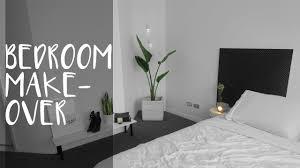 Diy Bedroom Makeovers - diy room makeover simple u0026 clean style rachel aust youtube