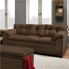 simmons upholstery 6765pk velocity espresso sofa sears outlet