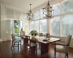 dining room exciting marburn curtain with norman shutters and traditional dining room design with rustic dining table and mid century dining chairs plus norman shutters