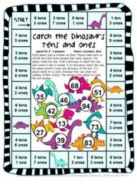 printable math games on place value earth day place value from first grade fun times on teachersnotebook
