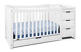 White Convertible Crib With Drawer Graco Remi 4 In 1 Convertible Crib And Changer White