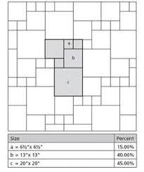 tile laying pattern classical 3 way opus slate bathroom