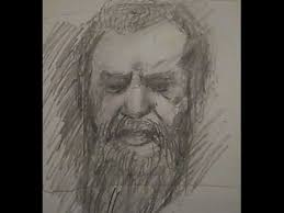 12 minute sketch old man with beard youtube