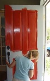 How To Paint An Exterior Door Re Pinning This Because I Used This Tutorial To Paint My Front