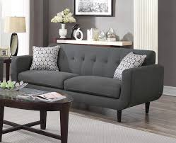 Grey Linen Sofa by Stansall Grey Linen Sofa By Coaster Furniture 505201 Dallas Fort