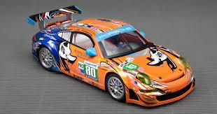 porsche gt3 rsr porsche 911 gt3 rsr 24h lm 2011 80 scaleauto u2022 1 32 u0026 1 24 race