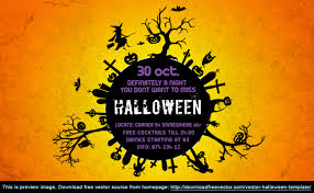 download free vector blog archive vector halloween template