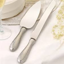 cake knife and server wedding cake knife server set handcrafted in