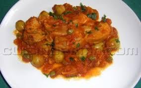 cuisiner rouelle de porc recette rouelle de porc aux olives et aux câpres pas chère et rapide