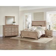 Value City Furniture Bedroom Vaughan Bassett American Cherry Queen Bedroom Group Value City