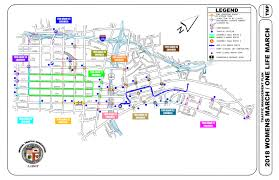 Compton Gang Map Women U0027s March La Will Close Many Downtown La Streets U2013 Daily Breeze