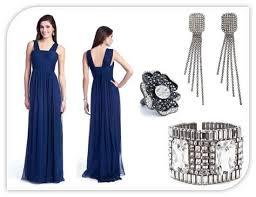 scoop neck navy blue lela rose bridesmaid dress with beading detail