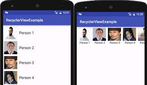 layout manager tutorialspoint recyclerview tutorial with exle in android studio android