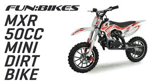 kids 50cc motocross bikes funbikes mxr 50cc 61cm red kids mini dirt bike on vimeo