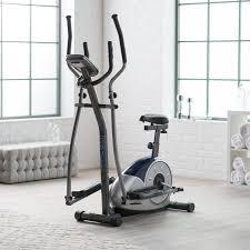 body champ brm3671 elliptical dual trainer with seat walmart com