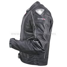perforated leather motorcycle jacket men s nf 8141 a armored leather motorcycle jacket with perforated