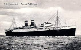 Pennsylvania travel steamer images Panama pacific line ss california virginia pennsylvania 1928 jpg
