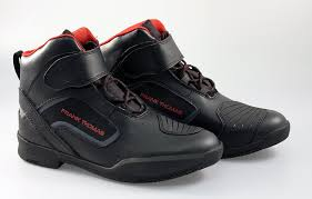leather motorbike boots frank thomas mx021 pace short motorcycle boots ankle motorbike