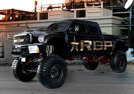 Ford F250 Truck Rims - rbp wheels 89r assassin ii in gloss black machined on a lifted