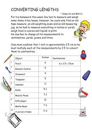 imperial to metric conversion worksheets converting measurements ks3 worksheets by tackleberi teaching