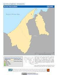 Brunei Map Map Gallery Sedac