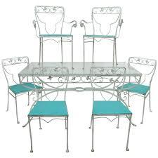 Woodbury 7 Piece Patio Dining Set - 7 piece salterini patio dining set garden wrought iron floral