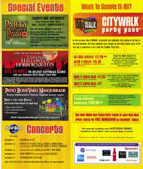 halloween horror nights college student discount universal citywalk guidemaps