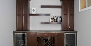 Antique Bar Cabinet Furniture Bar Classic Home Bar Cabinets With Side Wine Storage Brown