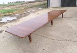Antique Boardroom Table Antique Furniture Warehouse 20ft Style Oak Boardroom