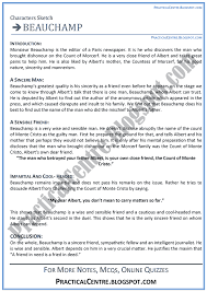 example of character sketch essay document image preview page 1