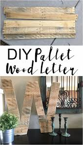wooden letters home decor 50 cool and crafty diy letter and word signs